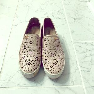 Light pink Michael Kors loafers